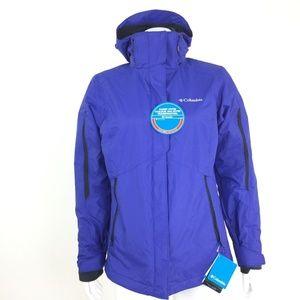 Columbia Womens XS Purple Omni Heat Winter Jacket